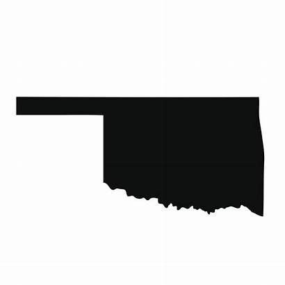 Oklahoma State Map Vector Clip Flag Illustrations