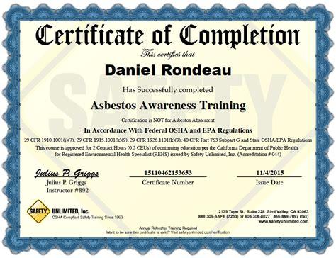 mz asbestos program