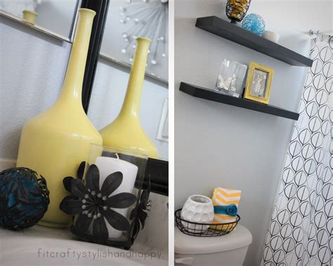 yellow and gray bathroom ideas black white and yellow bathroom 2017 grasscloth wallpaper
