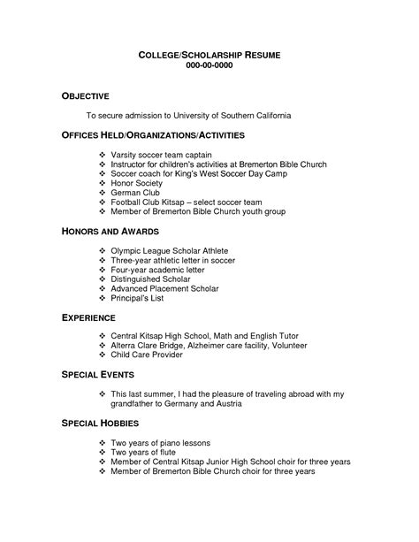 exle of a simple resume for a 28 images resume script