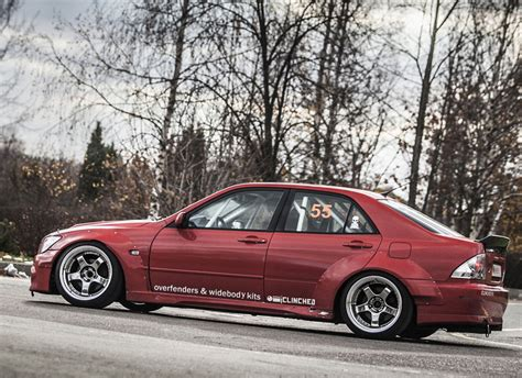 lexus is300 widebody clinched lexus is300 toyota altezza widebody kit ebay