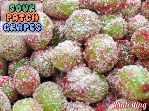 Pintesting Sour Patch Grapes Pintesting