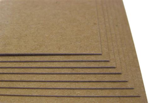 what is chipboard 50 brown kraft chipboard sheets 5x7 24pt thickness scrapbook craft card board ebay