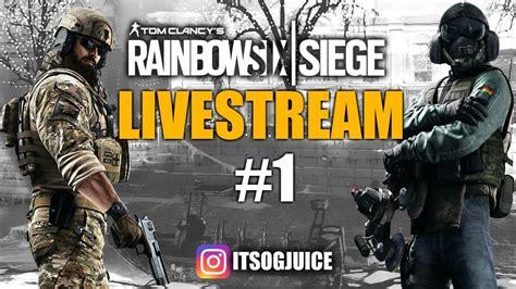 Rainbow Six Siege With The Boys Livestream #1 - YouTube