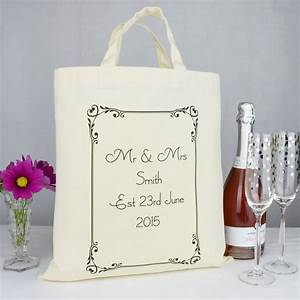 personalised 39mr and mrs39 wedding gift bag by andrea fays With mr and mrs wedding gifts