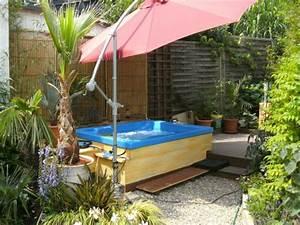 garten pool selber bauen eine verbluffende idee With französischer balkon mit absperrung für hunde im garten