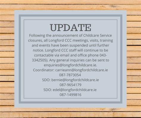 update longford childcare committee