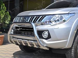 Mitsubishi L200 Triton Chrome Axle Nudge A
