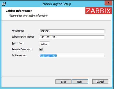 How Install Zabbix Agent Add Windows Host