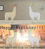 Llamas With Hats Birthday
