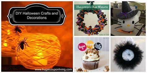 Diy Halloween Crafts And Decorations