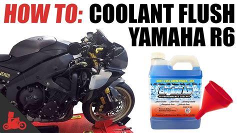 Motorcycle Coolant Flush (yamaha R6)
