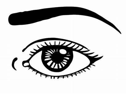 Coloring Eye Eyes Pages Printable Watching Template