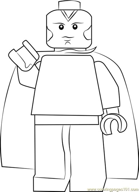 lego vision coloring page  lego coloring pages