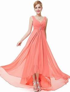 ever pretty womens semi formal sleeveless long evening With robe vaporeuse