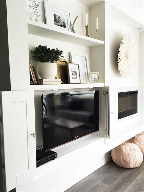 hide  tv  simple built ins ineverythingca