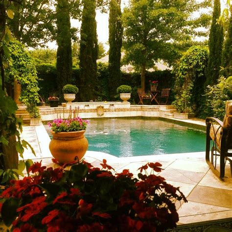 tuscan inspired backyards tuscan inspired swimming pools pinterest