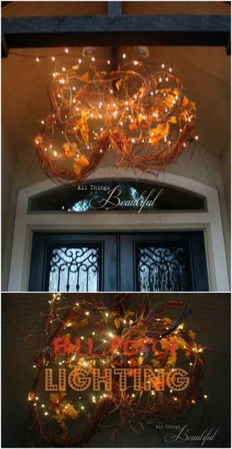 fall porch decorating ideas    home  envy