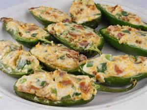Cream Cheese Stuffed Jalapeno Peppers with Bacon