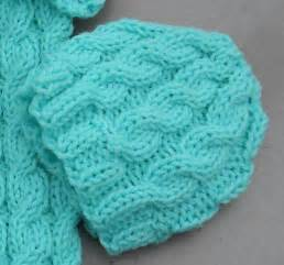 Cable Knit Baby Hat Pattern Free