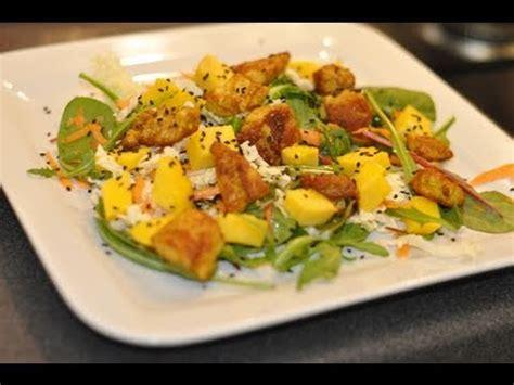 salade de pates poulet curry salade de printemps poulet curry mangue