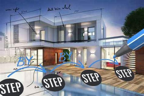 Haus Selber Bauen Schritt Für Schritt by Haus Entwerfen Schritte Zum Architektenplan Im Detail