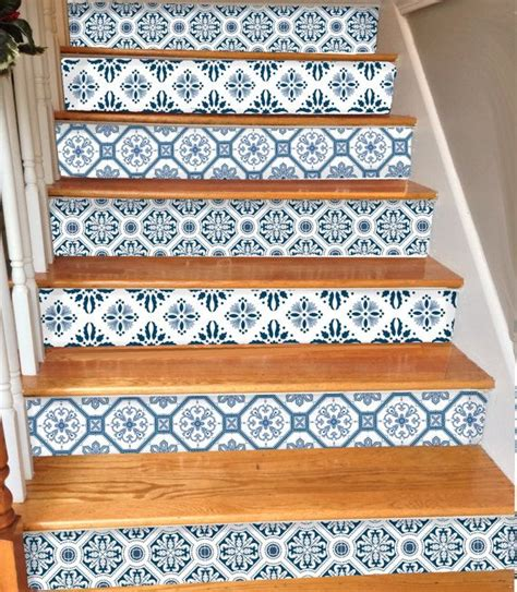 Removable Stair Riser Vinyl Decal by 15steps Stair Riser Vinyl Strips Removable Sticker Peel