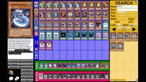Yugioh Deck List Lightsworn by Yu Gi Oh Lightray Deck March 2013 Format
