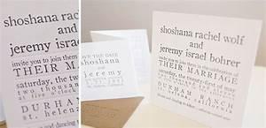minimalist thick paper letterpress wedding invitation With wedding invitation paper thickness