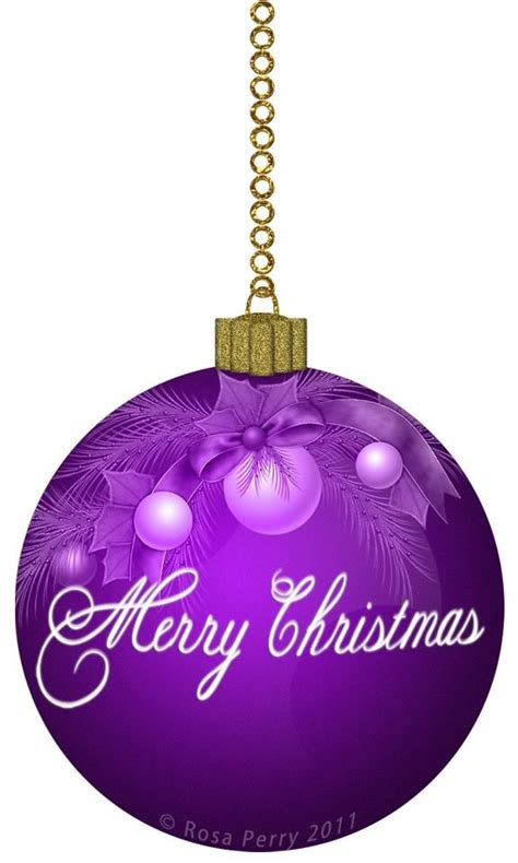 109 best purple christmas images on pinterest
