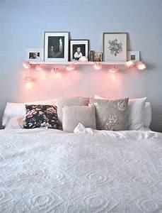 Tumblr Zimmer Lichterketten : die sch nsten 50 dekoideen f r gem tliches zuhause wohnung bedroom room decor und bedroom ~ Eleganceandgraceweddings.com Haus und Dekorationen
