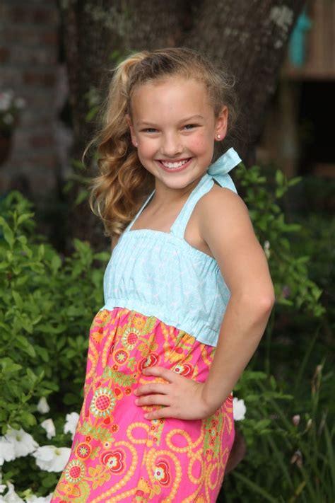 Girls Maxi Dress Pdf Sewing Pattern Seamingly Smitten
