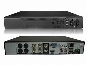 4 Channel 4ch Cmos 800tvl Cctv Camera Full D1 Dvr Video