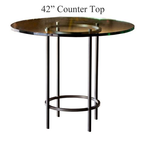 helios counter height table with 42 in top