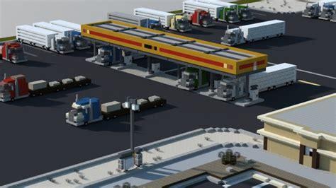 Nevada Truck Stop Minecraft Project