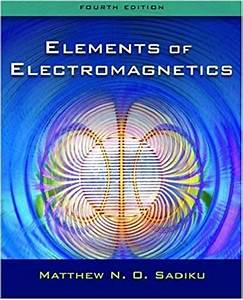 Electromagnetics With Applications 5th Edition