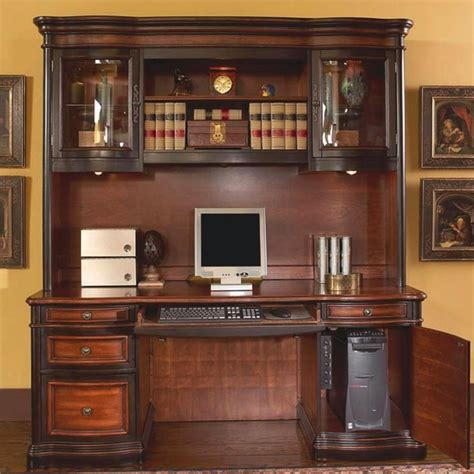 Office Hutch by Pergola Grand Style Office Credenza Hutch Computer Desk 800500