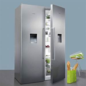 Siemens Side By Side : siemens ks36wpi30 gs36dpi20 side by side fridge freezer with ice water in 2019 kitchen ~ Frokenaadalensverden.com Haus und Dekorationen