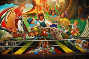 denver international colorado airport murals perpetualmotion flickr