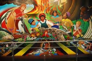 denver international colorado airport murals flickr