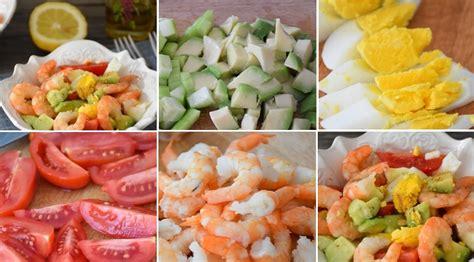 Dārzeņu salāti ar garnelēm un avokado - Laiki mainās!