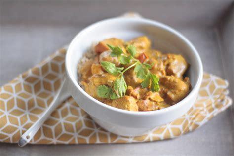 poulet au curry et lait de coco aistou cuisine