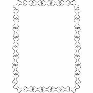 Dog Bone Border Clipart - Clipart Suggest