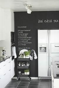 deco mur cuisine 50 idees pour un decor mural original With idee decoration murale pour cuisine