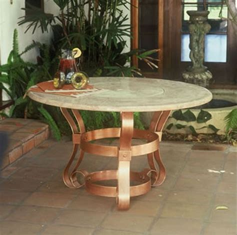 tuscany outdoor granite top table firepit 301