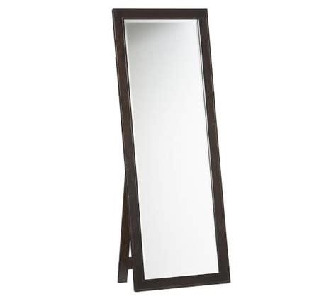 floor mirror with stand classic floor mirror pottery barn