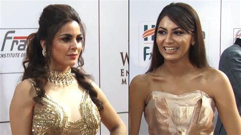 Sriti Jha And Shradha Arya At Gold Awards 2018 Kumkum