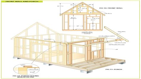 cabin blueprints wood cabin plans free cabin floor plans free bunkie plans