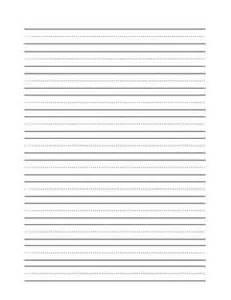 Blank Writing Practice Worksheets