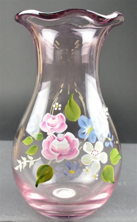 glass painting flower vase 42 beautiful glass painting ideas and designs for beginners